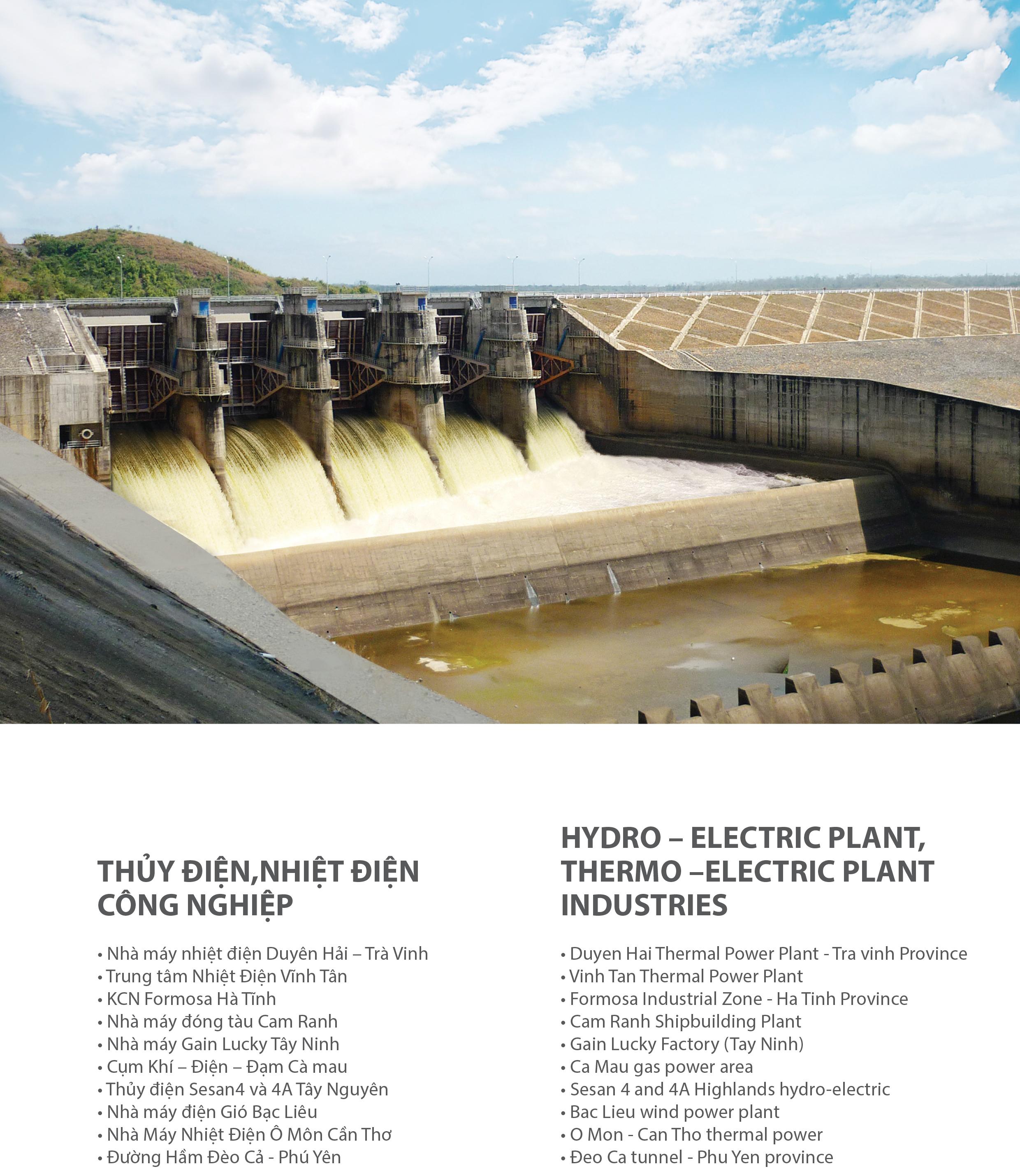 Nhà máy thủy điện - nhiệt điện