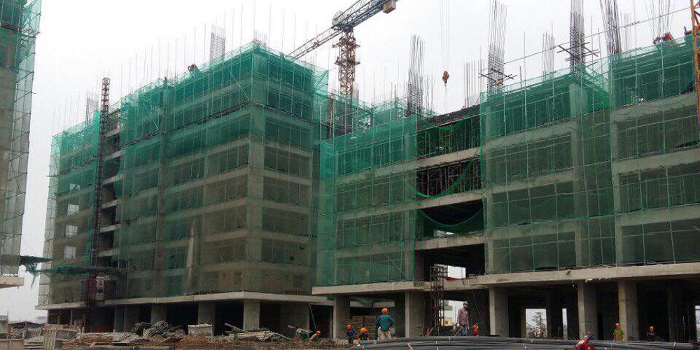 Dự án chung cư xây dựng của Thép Việt Nhật