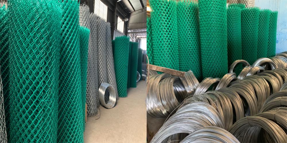 Sản phẩm lưới b40 bọc nhựa PVC
