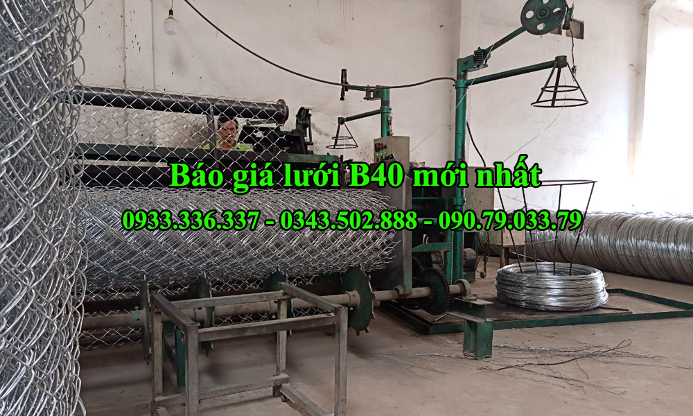 Báo giá lưới B40 tháng 10 năm 2020 tại nhà máy sản xuất Thành Đạt Steel